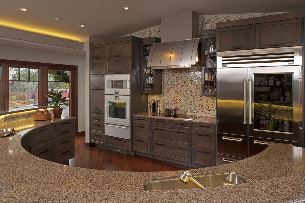Los Altos Hills Kitchen Designs Dell Ario Interiors